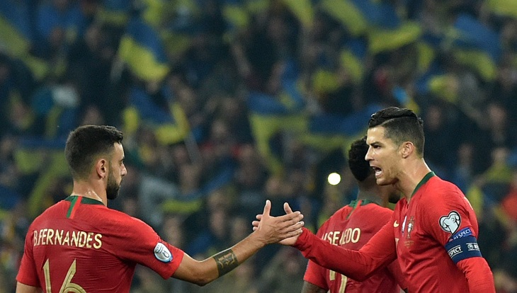 Ukraine qualify for Euro 2020 despite Ronaldo's 700th goal
