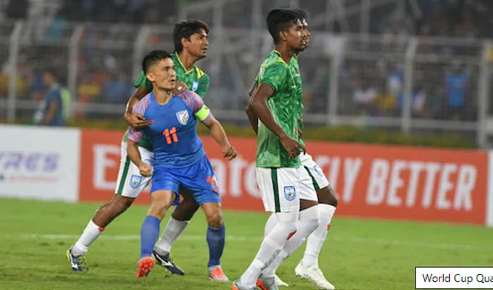 Bangladesh fail to hold the lead, India make 1-1 draw
