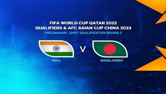 Several Indian TV channels to telecast Bangladesh-India football clash