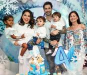 Sunny Leone's daughter Nisha's Frozen-themed birthday celebrations
