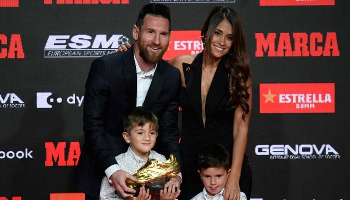 Messi wins third straight Golden Shoe as top league-goal scorer