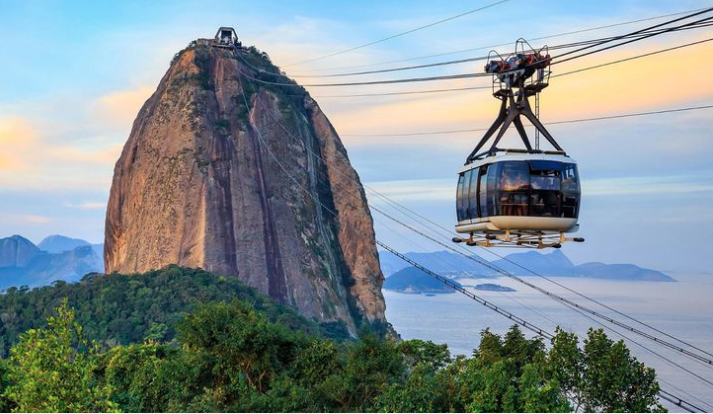 You can now stay overnight in Rio de Janeiro's cable cars