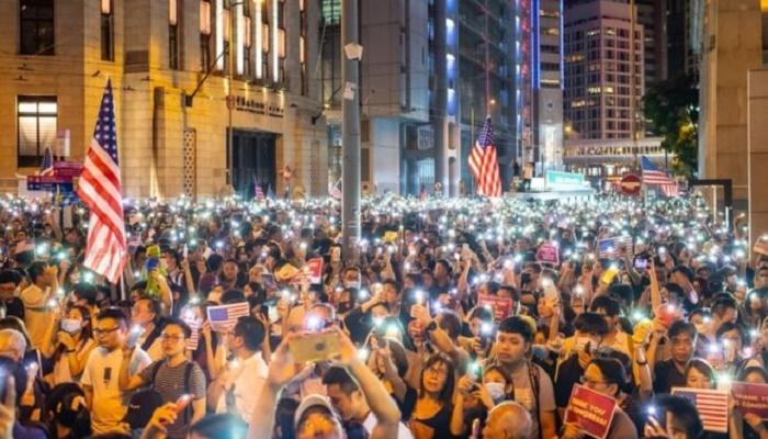 Hong Kong protests: US lawmakers pass Human Rights and Democracy Act