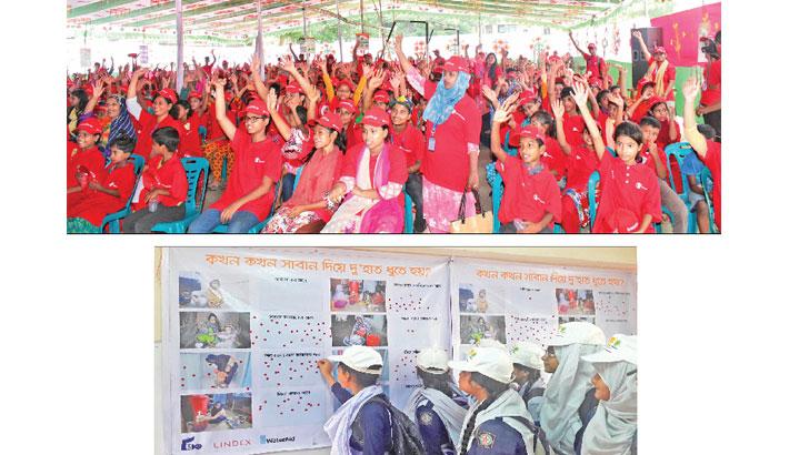 Schoolchildren vow to wash hands