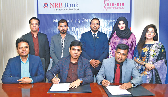 NRB Bank, Bio-Xin Cosmeceuticals ink deal