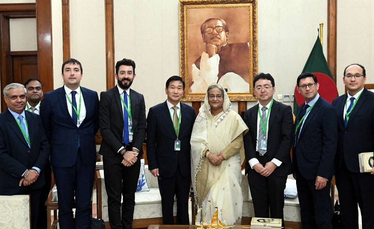 Rohingyas' early return better for Bangladesh, PM tells ADB team