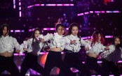 Dancing in the streets in K-pop festival