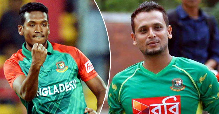 Al Amin, Arafat Sunny recalled for T20 series against India