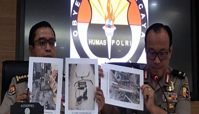Indonesia arrests 36 militant suspects ahead of presidential inauguration