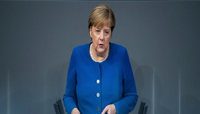 Merkel calls on Turkey to end Syria offensive
