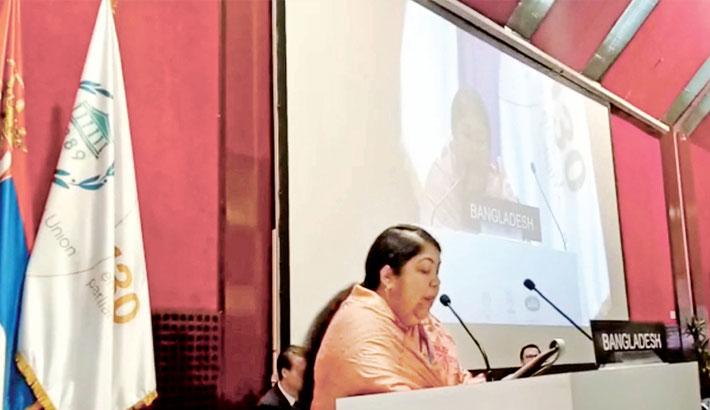 Speaker urges I-PU to ensure gender equality