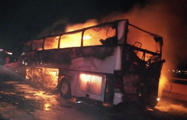 35 pilgrims die in bus crash in Saudi Arabia