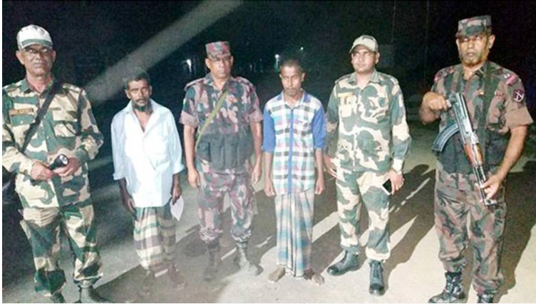Detained Indian national handed over to BSF in Feni