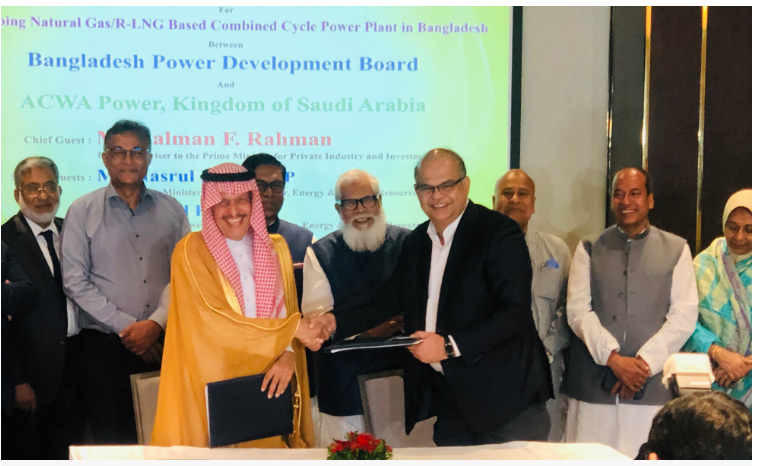 Saudi company signs MoU for investing $2.5b in power sector