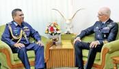 Italian air chief calls on Bangladesh air chief