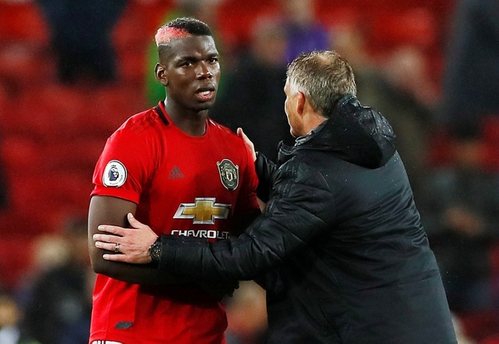 Pogba out of United's clash with Liverpool
