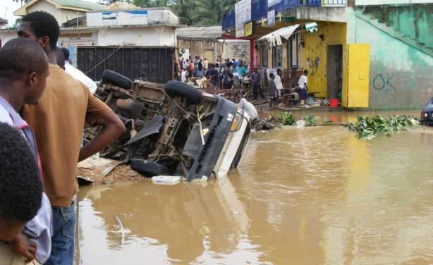 Ghana flooding leaves 28 dead