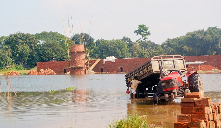 Brick kilns spring up on arable lands