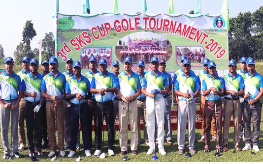 SKS Cup Golf Tournament begins in Rangpur