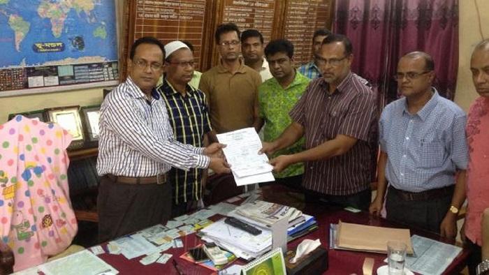 Abrar Faiyaj gets enrolled at Kushtia Govt College
