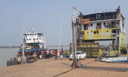 Ferry services resume partially on Shimulia-Kathalbari route