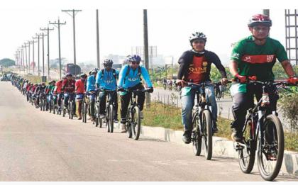 10-km cycle lane being built in Agargaon: DNCC Mayor