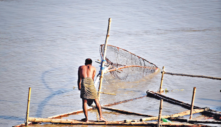 Fishing with traditional fishing device
