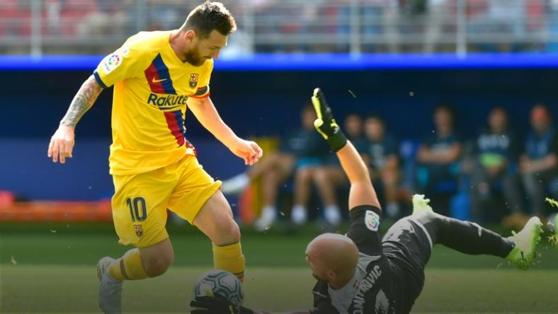 Messi, Suarez, Griezmann all on target as Barcelona dispatch Eibar