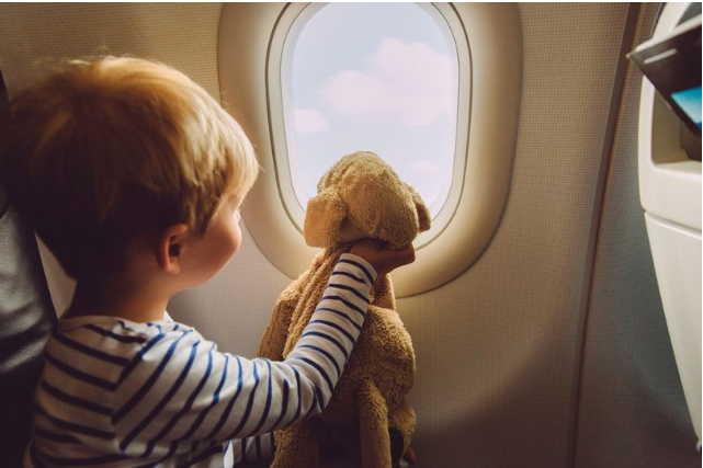 Best place to sit on a plane with a toddler - according to a flight attendant