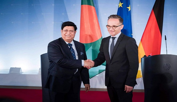Dhaka urges Berlin to put pressure on Myanmar