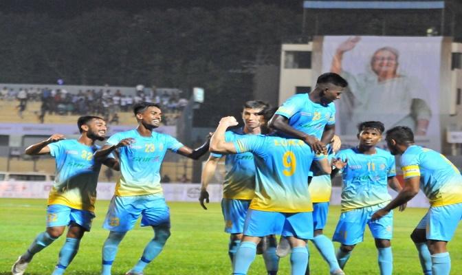Sk Kamal Football: Chattogram Abahani off to flying start, crush Maldives TC Sports 4-1