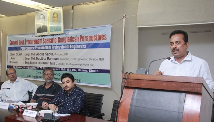 Experts for addressing complexities in government procurement system