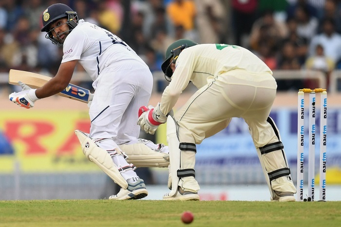 Rohit, Rahane revive India after South Africa's promising start