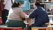 Fat found in overweight people's lungs, study shows