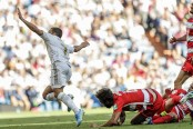 Granada beats Osasuna to move into 2nd place in Spain
