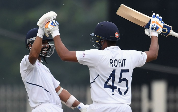 Rohit-Rahane stand flattens South Africa post lunch