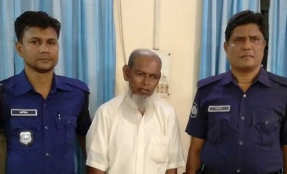 65-year-old man held on charges of sexually harassing 10 children