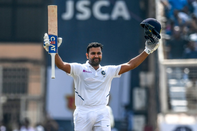 Sharma hits double ton as India declare on 497-9