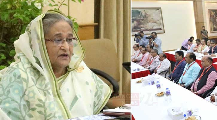 Rumour spread out in the incident of Bhola, says PM Sheikh Hasina