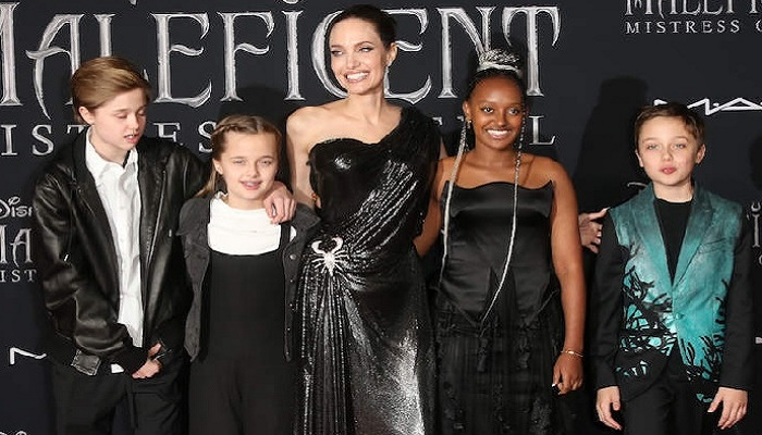 Angelina Jolie says her children are not interested in acting