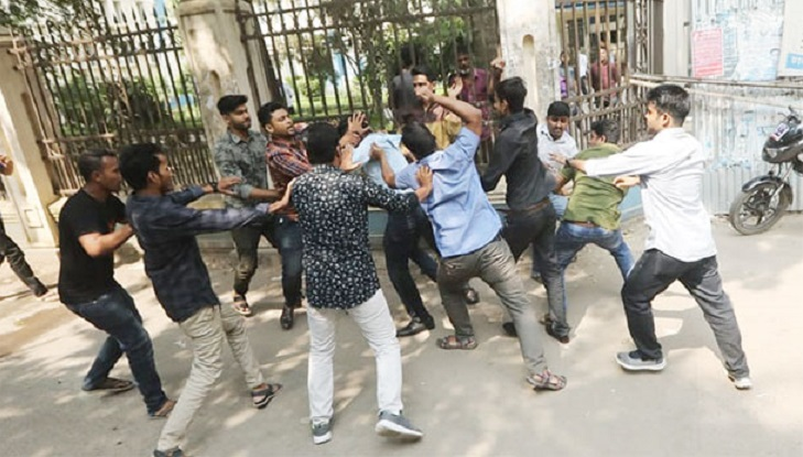JCD leaders come under attack on DU campus