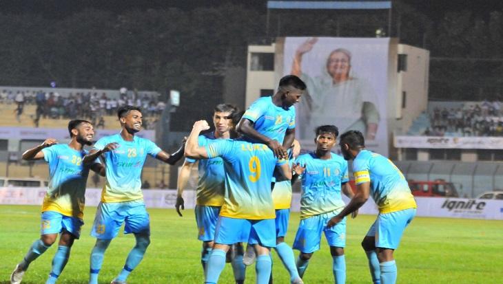 Sk Kamal Football: Chattogram Abahani off to flying start, crush TC Sports 4-1