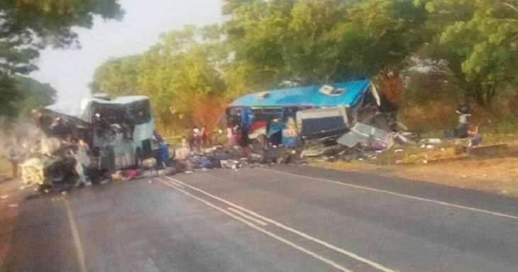 Twenty dead in DR Congo bus accident