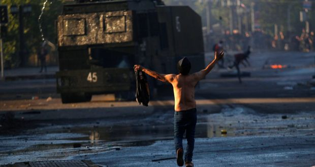 Chile protests: At least eight dead after violent clashes