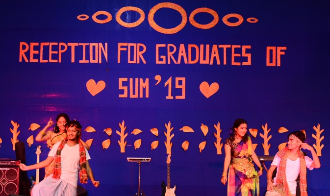 Passing out reception for the 70th graduate batch of IUBAT held
