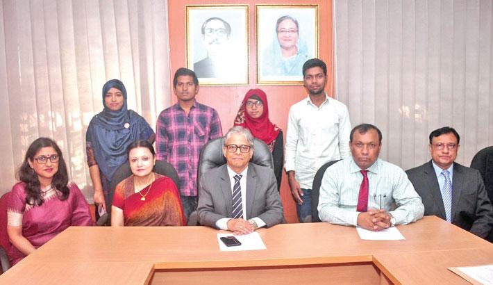 4 DU students get 'Prof Nazma Begum Trust Fund Scholarship'