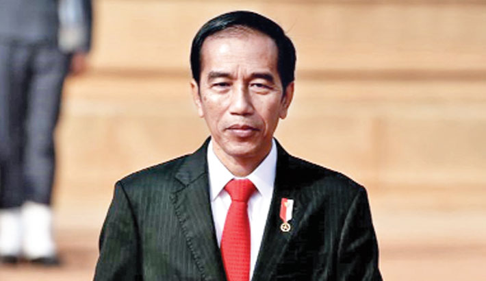 Indonesian President Widodo sworn in for second term
