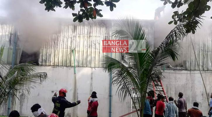 Gazipur factory fire under control