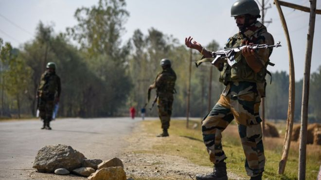 India and Pakistan blame each other over Kashmir shelling