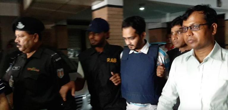 DNCC ward councillor Rajib remanded